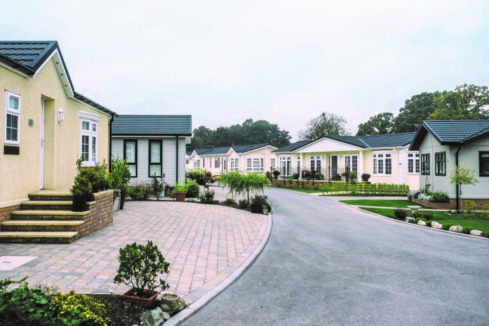 Luxury Hampshire park home development
