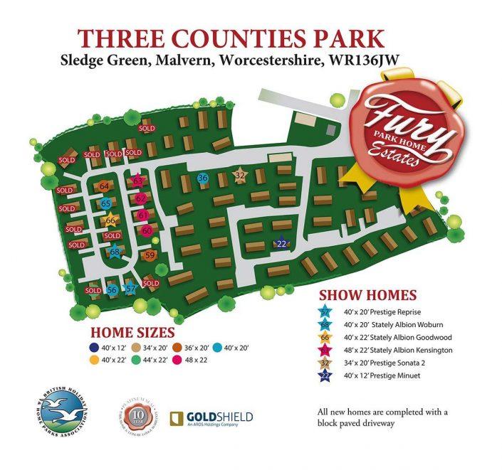 Sledge Green park map