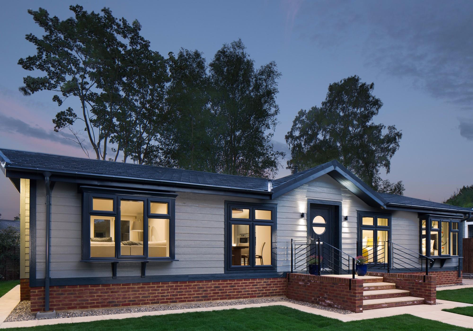 warfield park berkshire park home development park home exterior