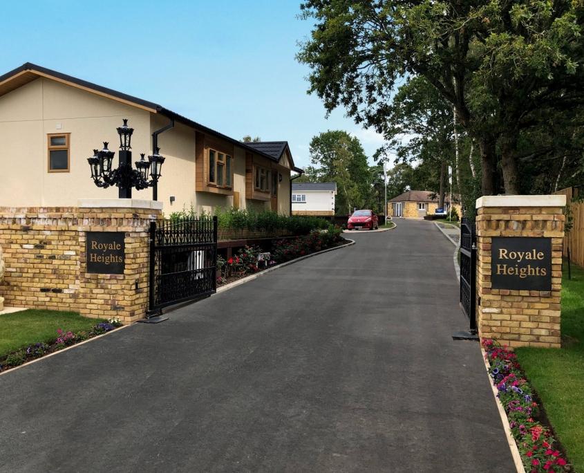 residential park gates