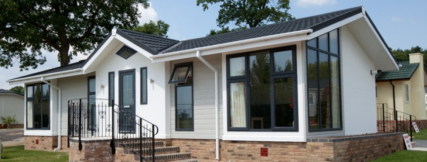 Exterior Stately-Albion Wentwood park home residential development