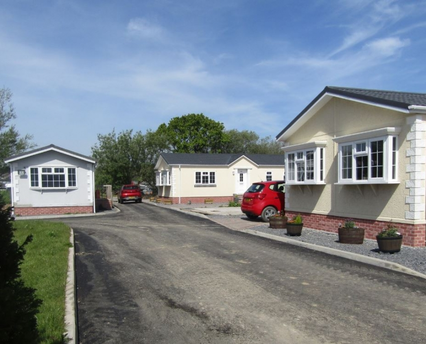 Willerby Hazelwood park home exterior