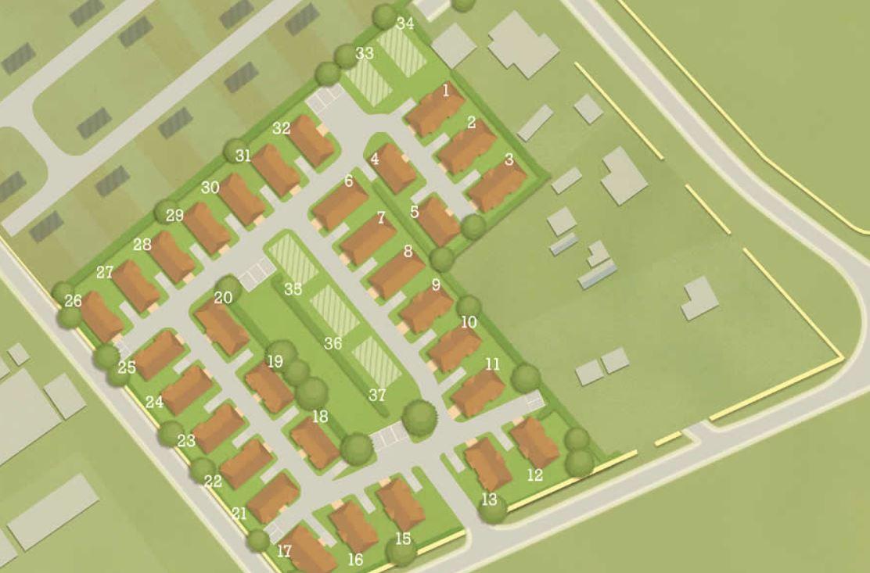 rookery drove park home development wyldecrest plan