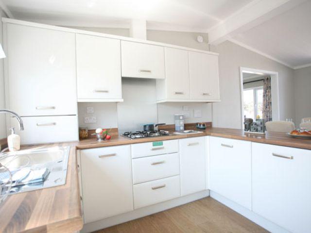 bedwell park home development park home interior kitchen