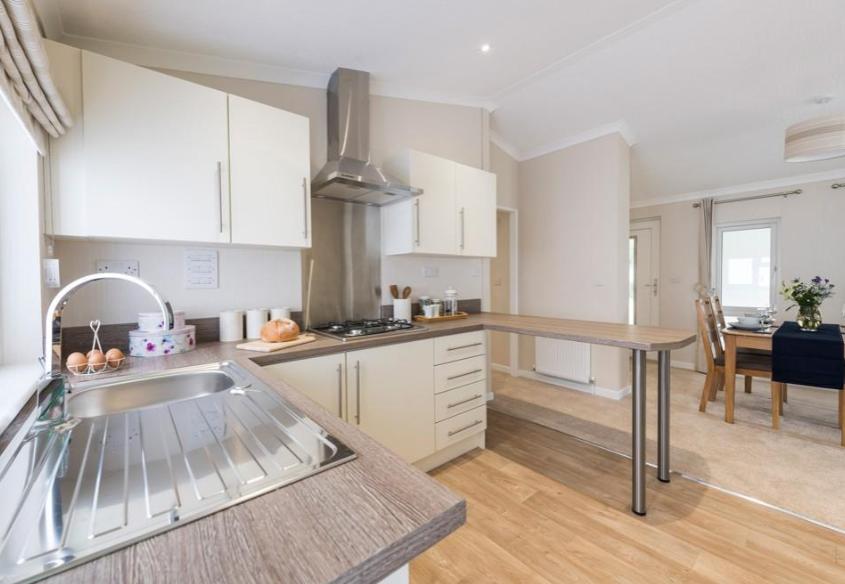 Omar Newmarket park home kitchen interior
