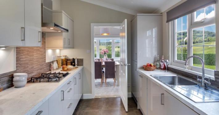 Interior Kitchen on Penwortham Park home development Lancashire