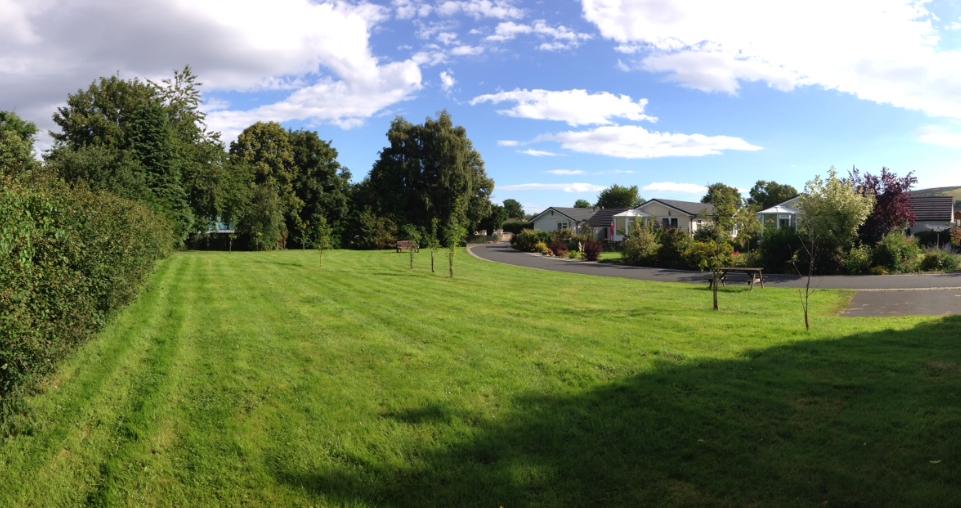 bridgend community area on park