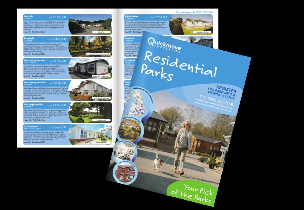 quickmove park home brochure