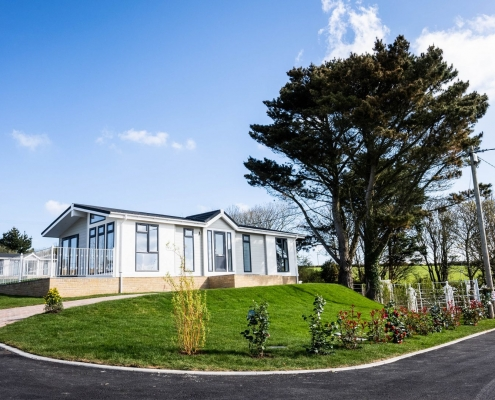 park home in cornwall