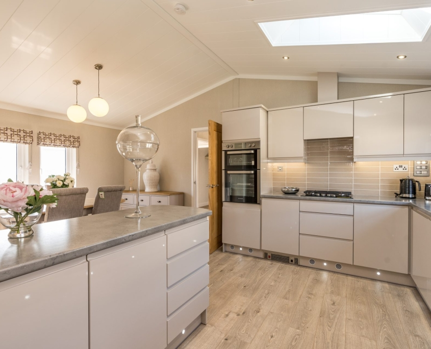 kitchen of bungalows for sale in bude